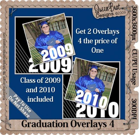 Graduation Overlay Pack 4
