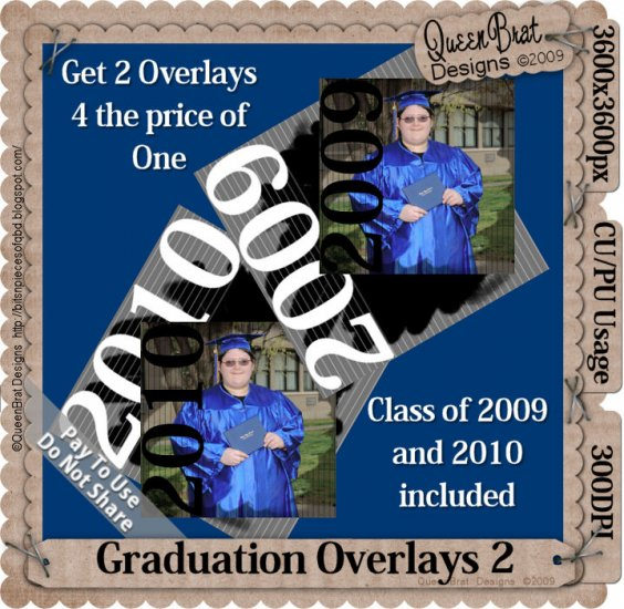 Graduation Overlay Pack 2