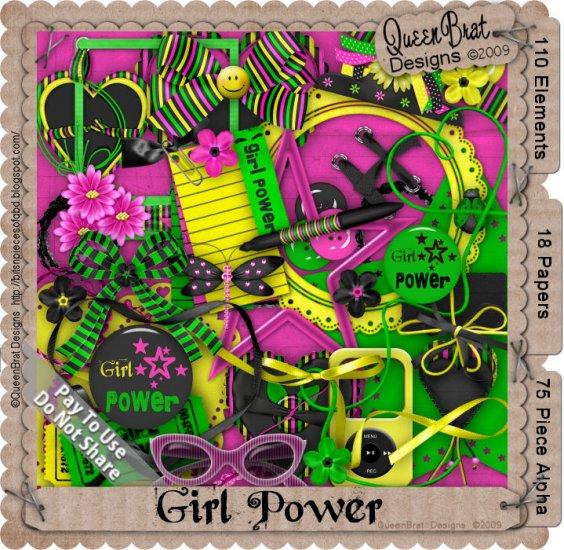 Girl Power Scrapper Kit