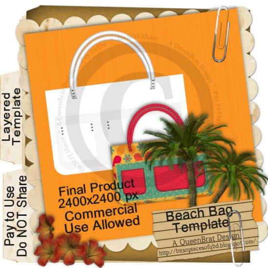 Beach Bag Template