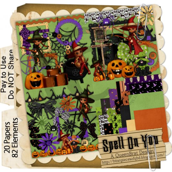 Spell On You Scrapper