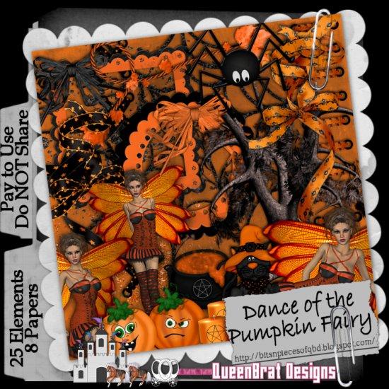 Dance Of The Pumpkin Fairy Scrapper