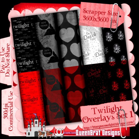 Twilight Overlays Set 1 Scrapper