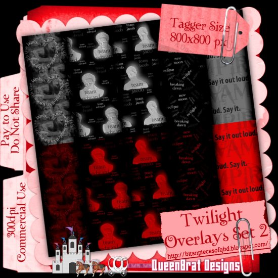 Twilight Overlays Set 2 Tagger