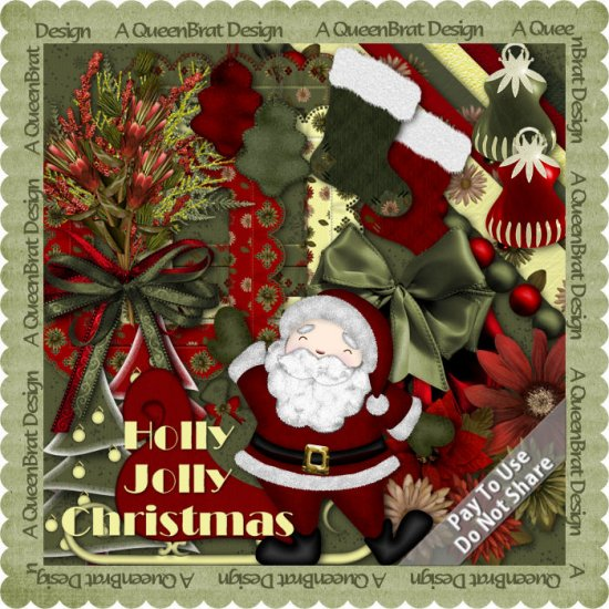 Holly Jolly Christmas Scrappers Kit