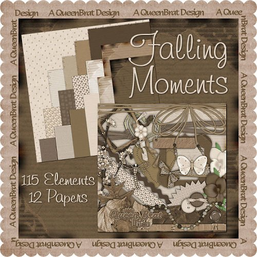 Falling Moments Scrappers Kit