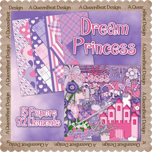 Dream Princess Scrappers Kit