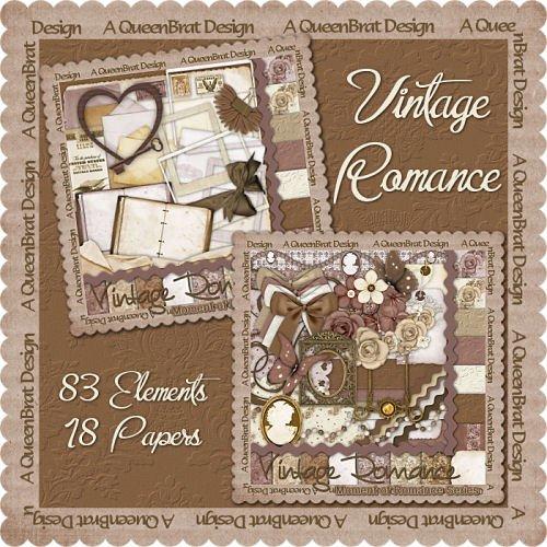 Vintage Romance Scrappers