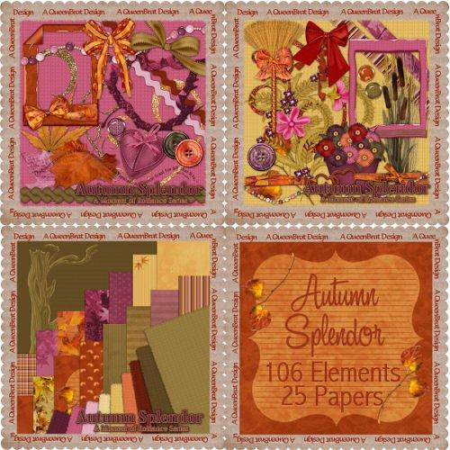 Autumn Splendor Scrappers Kit