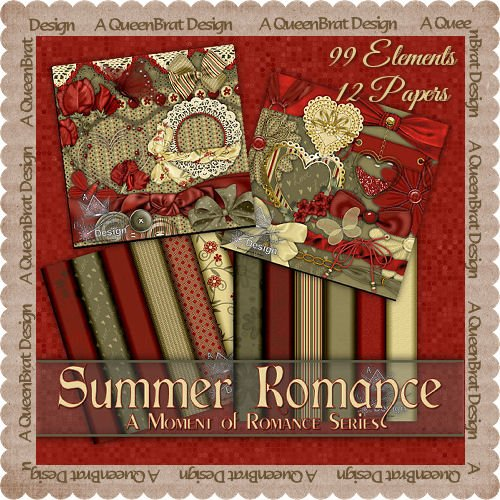 Summer Romance Scrappers Kit