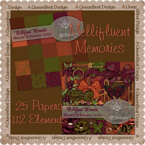Mellifluent Memories Scrappers Kit