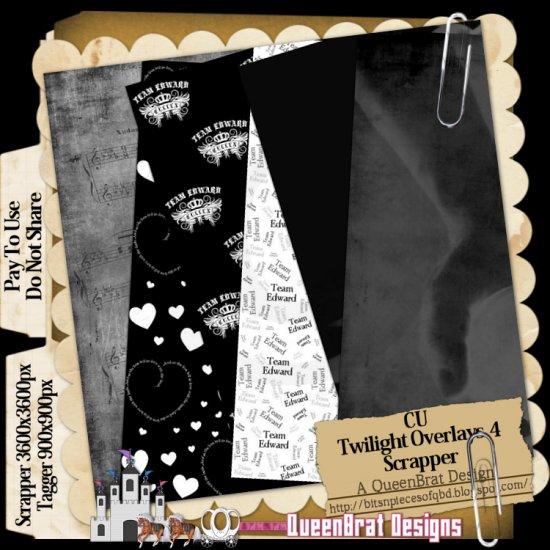 Twilight Overlays Pack 4 Scrapper