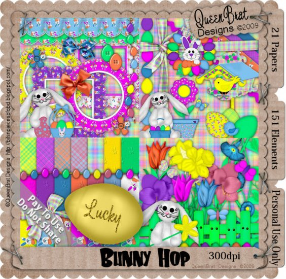 Bunny Hop Scrappers Kit