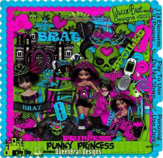 Punky Princess Scrapper
