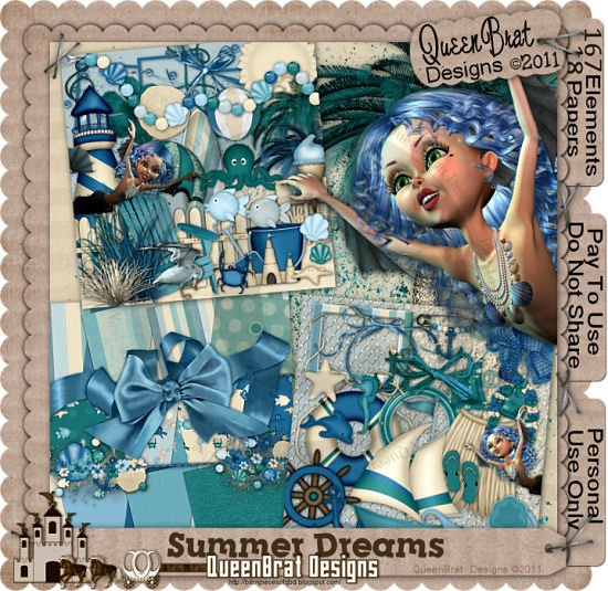 Summer Dreams Scrapper