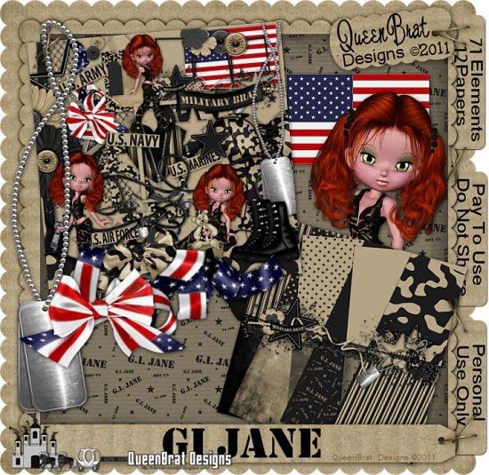 GI Jane Scrapper
