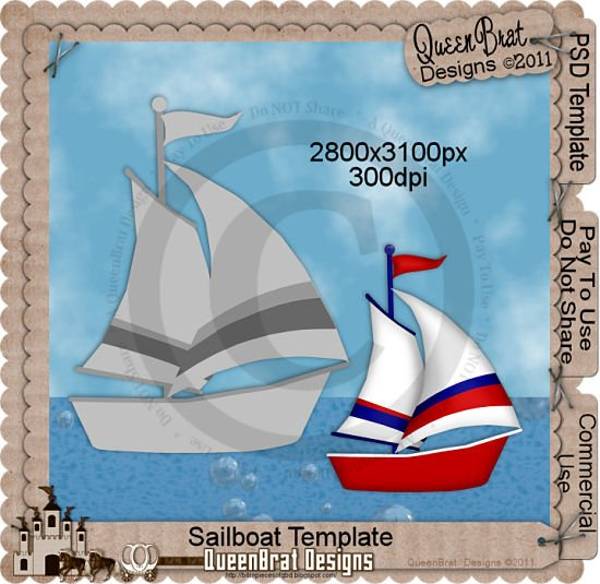 Sailboat Template