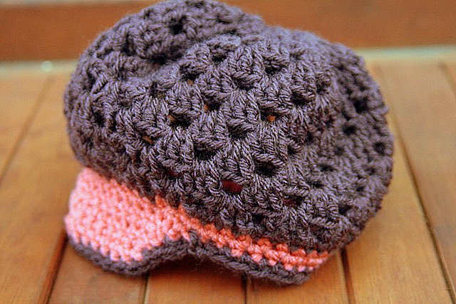Fall Leaves beanie - size newborn to 3 months