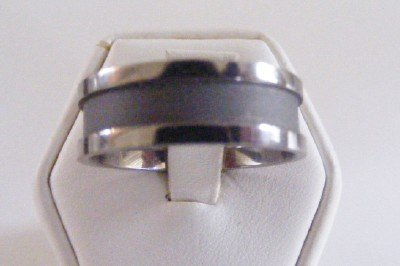 Men's Titanium band Style Ring size 11.5