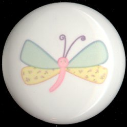 Gossamer Wings DRAGONFLY ~ Ceramic Knobs