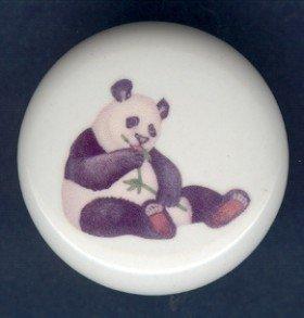 PANDA BEAR ~ Ceramic Knobs Pulls