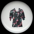 Tropical HAWAIIAN SHIRT #3 Ceramic Knobs Pulls Free S/H