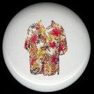 Tropical HAWAIIAN SHIRT #4 Ceramic Knobs Pulls Free S/H