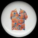 Tropical HAWAIIAN SHIRT #7 Ceramic Knobs Pulls Free S/H