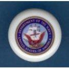 United States NAVY USN ~ Ceramic Drawer Knobs Pulls Free S/H