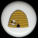 Bumblebee BEE HIVE #2 ~ Ceramic Drawer Knobs Pulls FREE S/H