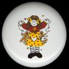 Prim RAG DOLL GINGERBREAD #1 Ceramic Drawer Knobs Pulls FREE S/H