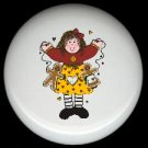 Prim RAG DOLL GINGERBREAD #2 Ceramic Drawer Knobs Pulls FREE S/H