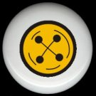 Yellow Button SEWING ~ Ceramic Drawer Knobs Pulls FREE S/H