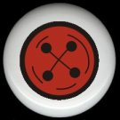Red Button SEWING ~ Ceramic Drawer Knobs Pulls FREE S/H