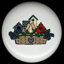 BASKET of Country BIRDHOUSES Ceramic Knobs Pulls