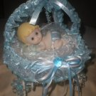 baby shower stroller cake topper centerpiece decoration