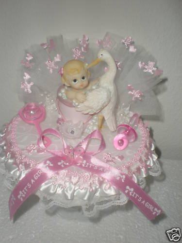 Cake Toppers 1st Birthday Girl : personalized baby girl 1st birthday cake topper