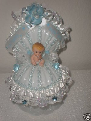 baby shower baby boy cake topper centerpiece decoration item 102