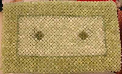 jade pillow arts gift