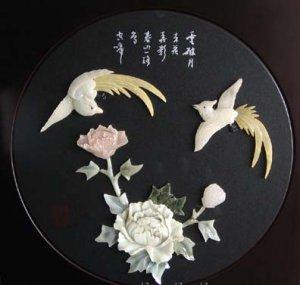 jade carving draw