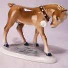 ANTIQUE   ♞  ZSOLNAY  ♞  PORCELAIN HORSE PONY FIGURINE W/ BELL