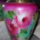 LARGE  ANTIQUE ♥ FOSTORIA ♥  PEONY GWTW PARLOR OIL KEROSENE LAMP BASE