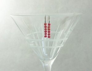 Frosted Seed Bead Earrings - Custom Design - Pick Your Own Colors