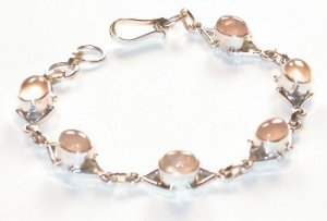 Rose Quartz Bracelet FREE SHIPPING