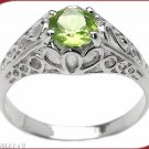 Peridot Solitare Ring