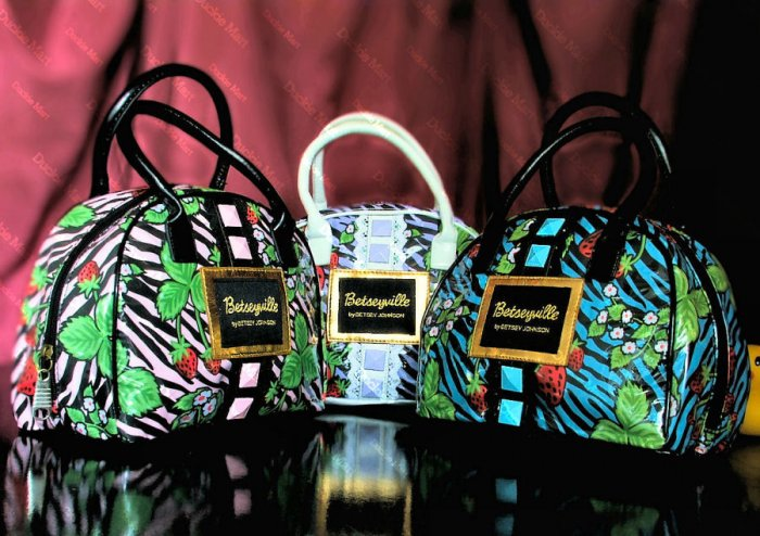 Betsey Johnson Strawberry Fields Handbag - Factory Outlet Specials