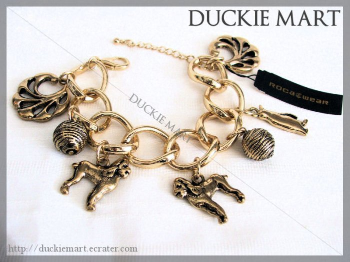 BRAND NEW Rocawear Multi Charm Chucky Bracelet