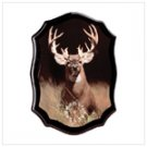 WHITE TAIL BUCK DEER CLOCK