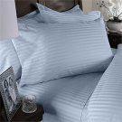 NILE VALLEY 100%EGYPTIAN COTTON 1000 TC BED SHEETS-KING STRIPED