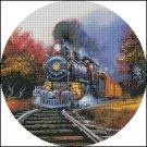 TRAIN 2 cross stitch pattern